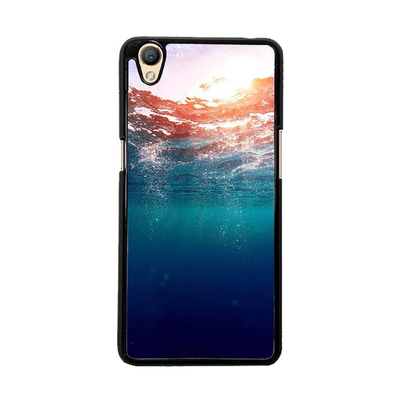Flazzstore Sunset Uderwater O0025 Custom Casing for Oppo Neo 9 A37