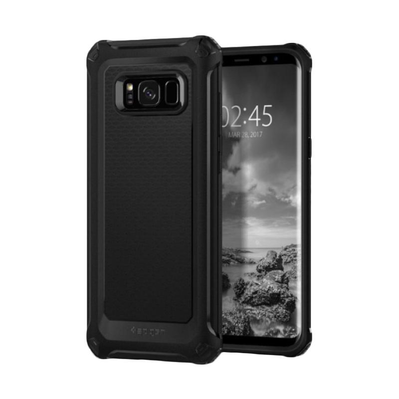 Spigen Rugged Armor Extra Softcase Casing for Samsung S8 Plus - Black