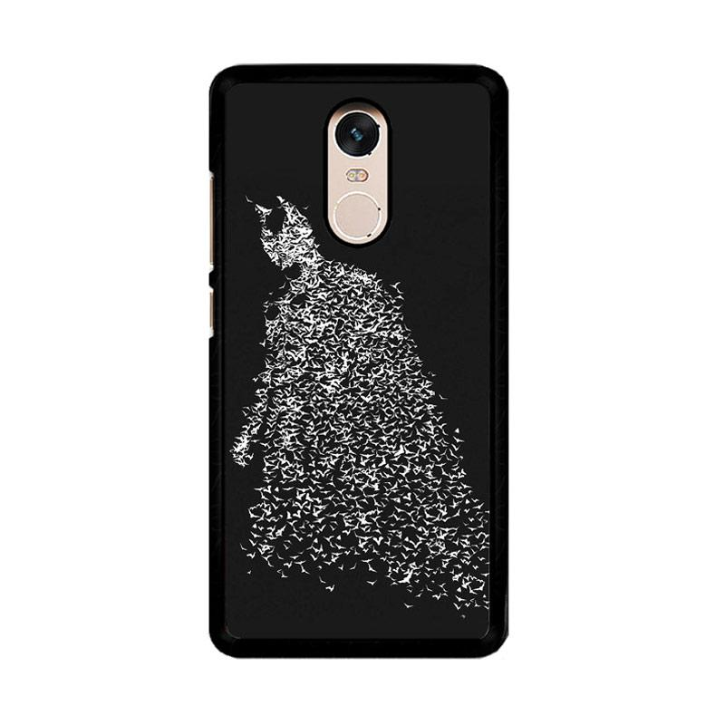 Flazzstore Batman Bat O0189 Custom Casing for Xiaomi Redmi Note 4 or Note 4X Snapdragon Mediatek