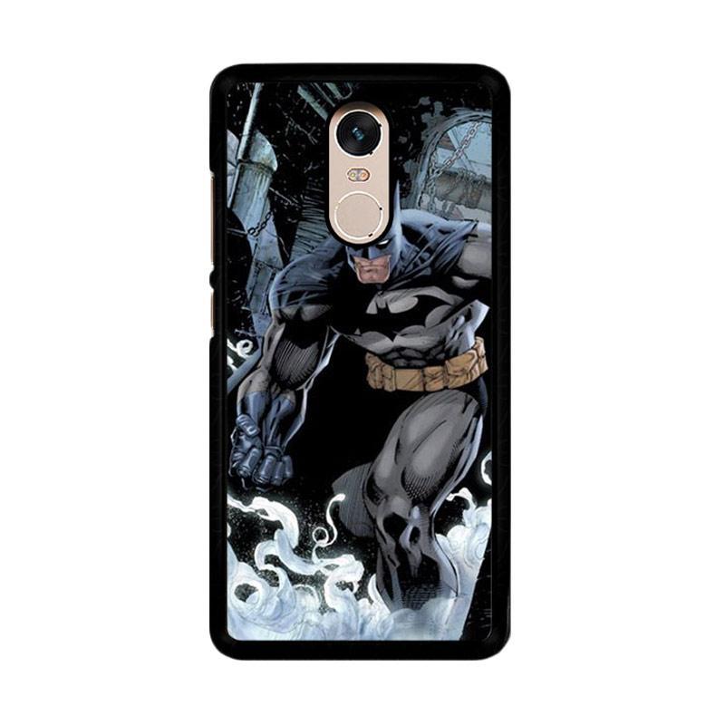 Flazzstore Batman 2 O0191 Custom Casing for Xiaomi Redmi Note 4 or Note 4X Snapdragon Mediatek