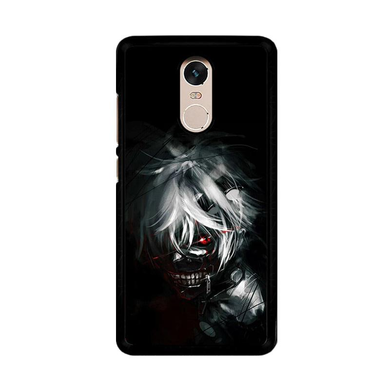 Flazzstore Tokyo Ghoul Kaneki O0423 Custom Casing for Xiaomi Redmi Note 4 or Note 4X Snapdragon Mediatek