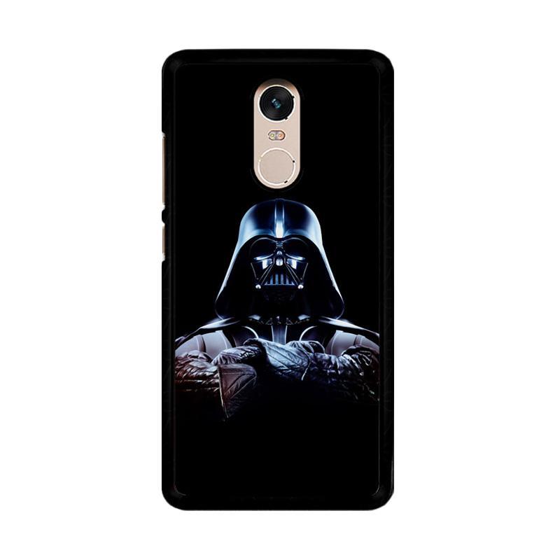 Flazzstore Darth Vader Back in Black Star Wars O0488 Custom Casing for Xiaomi Redmi Note 4 or Note 4X Snapdragon Mediatek