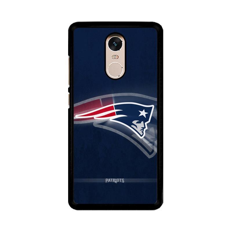 Flazzstore New England Patriots O0953 Custom Casing for Xiaomi Redmi Note 4 Note 4X Snapdragon Mediatek