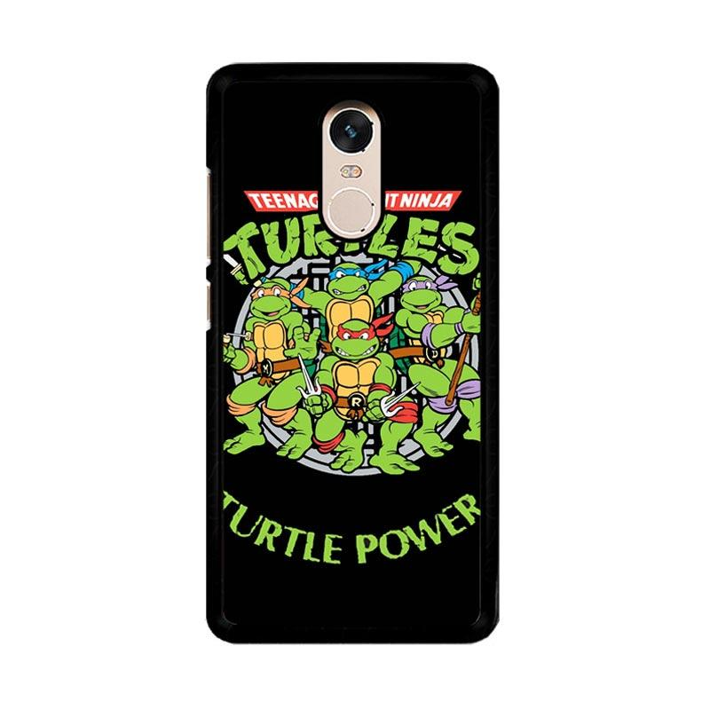 Flazzstore Teenage Mutant Ninja Turtles Tmnt Heroes Cartoon F0230 Custom Casing for Xiaomi Redmi Note 4 or Note 4X Snapdragon Mediatek