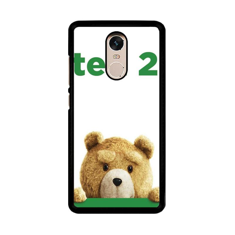 Flazzstore Ted 2 F0668 Custom Casing for Xiaomi Redmi Note 4 or Note 4X Snapdragon Mediatek
