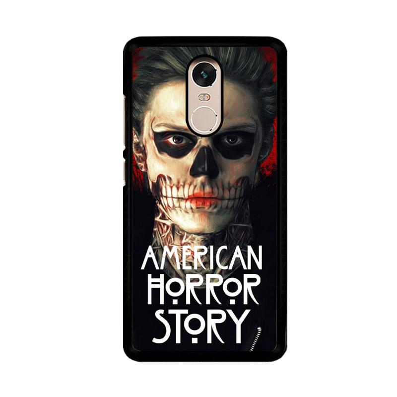 Flazzstore American Horror Story Face F0864 Custom Casing for Xiaomi Redmi Note 4 or Note 4X Snapdragon Mediatek