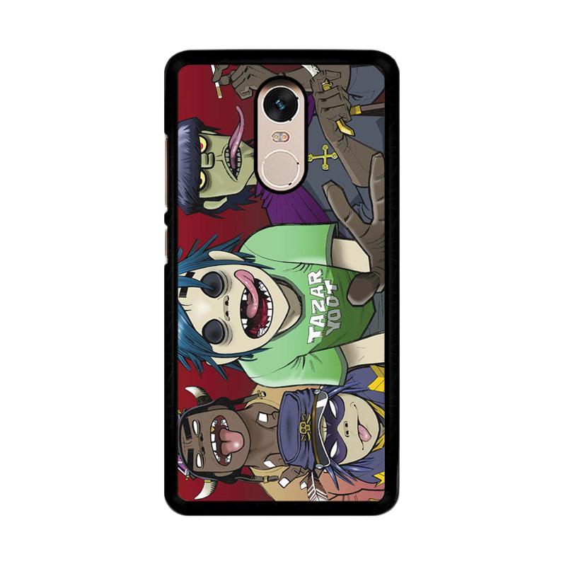 Flazzstore Gorillaz F0846 Custom Casing for Xiaomi Redmi Note 4 or Note 4X Snapdragon Mediatek