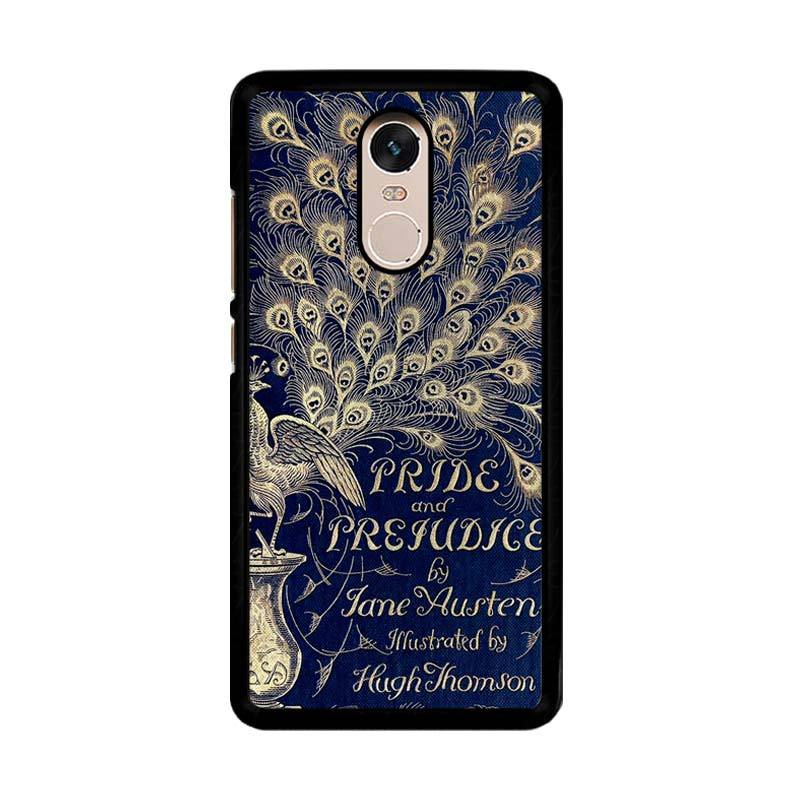 Flazzstore Cover Book Jane Austen Z0111 Custom Casing for Xiaomi Redmi Note 4 or Note 4X Snapdragon Mediatek