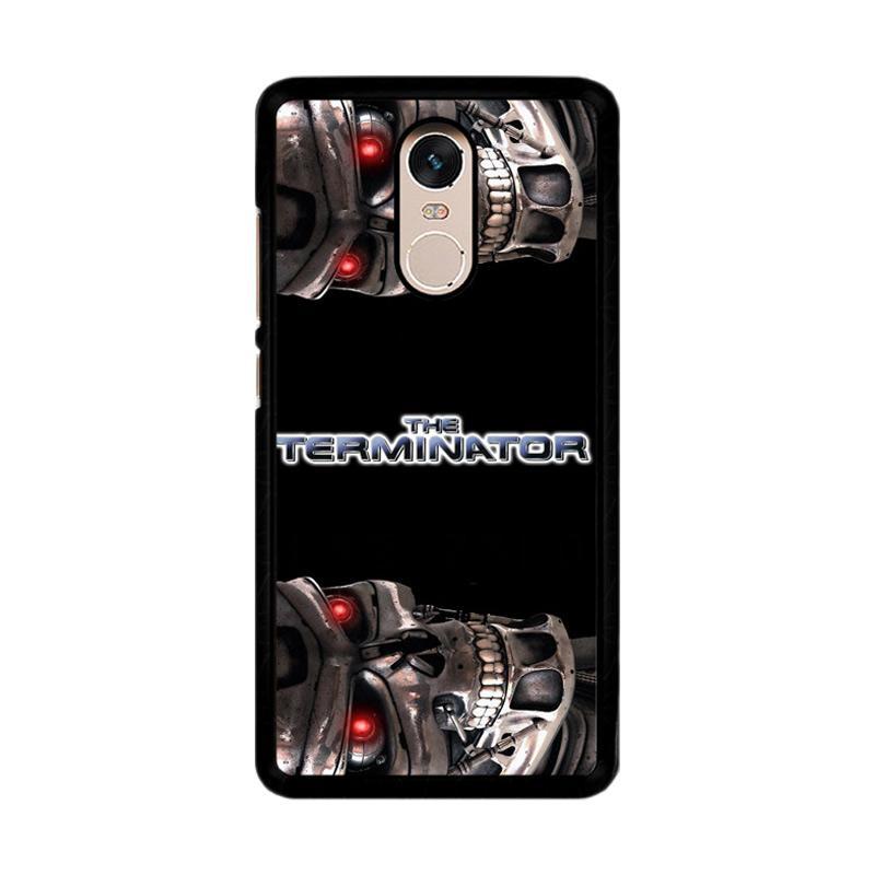 Flazzstore Terminator Z0148 Custom Casing for Xiaomi Redmi Note 4 or Note 4X Snapdragon Mediatek