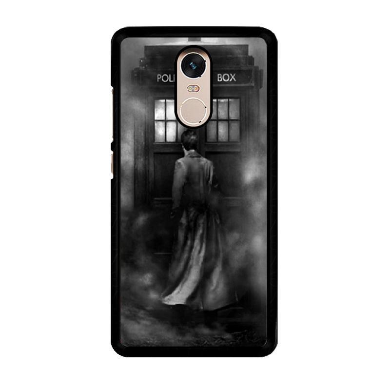 Flazzstore Doctor Who Z0167 Custom Casing for Xiaomi Redmi Note 4 or Note 4X Snapdragon Mediatek