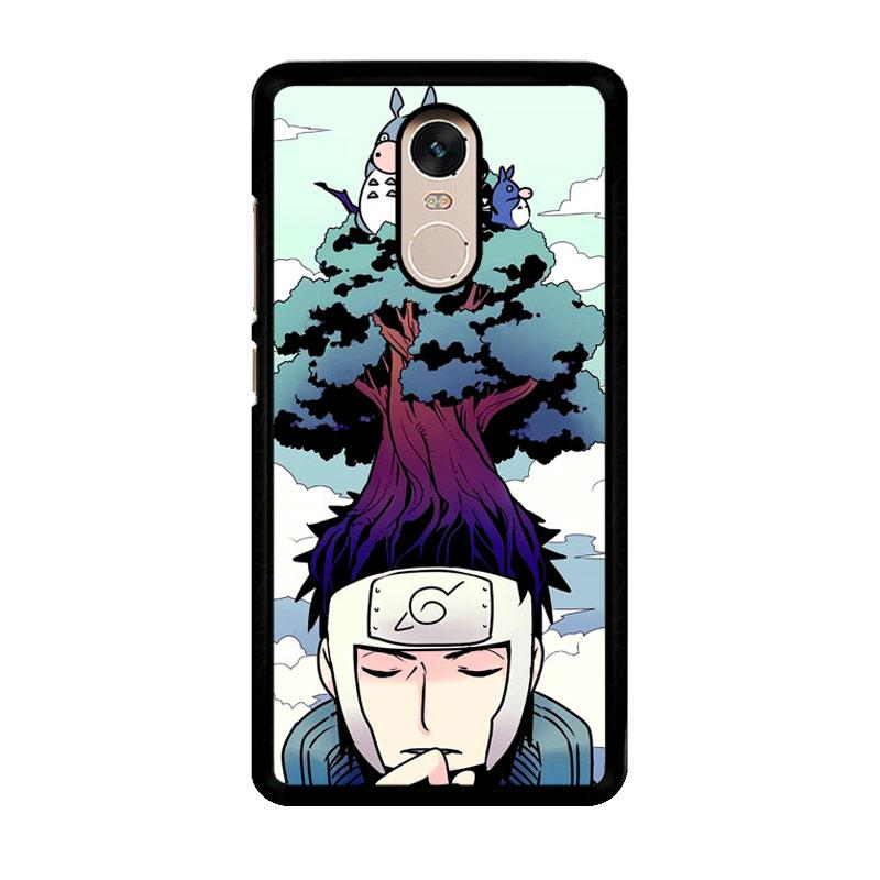 Flazzstore Neigbhor Totoro Meet Naruto Z0254 Custom Casing for Xiaomi Redmi Note 4 or Note 4X Snapdragon Mediatek