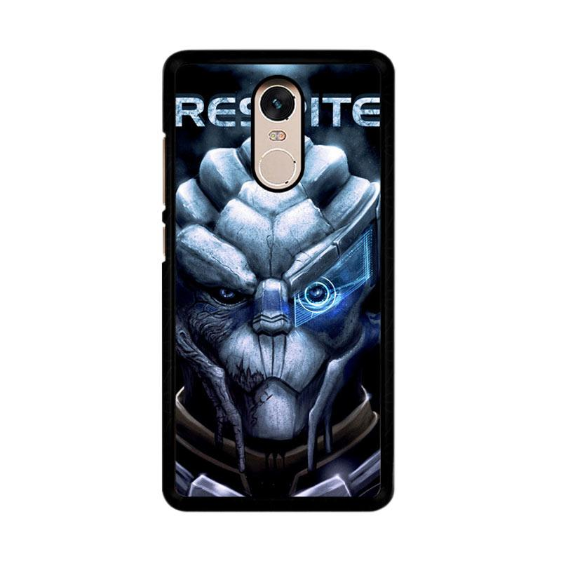 Flazzstore Mass Effect 3 Garrus Z0384 Custom Casing for Xiaomi Redmi Note 4 or Note 4X Snapdragon Mediatek
