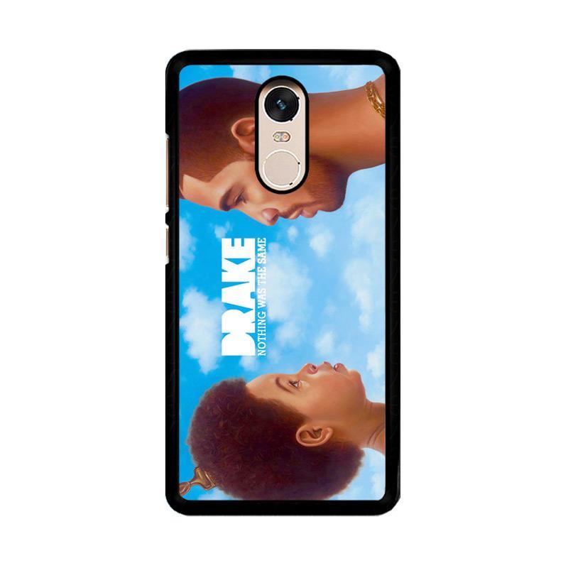 Flazzstore Drake Z0445 Custom Casing for Xiaomi Redmi Note 4 or Note 4X Snapdragon Mediatek