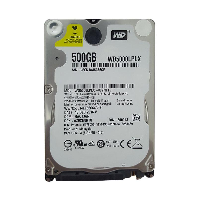Western Digital Internal Hard Drive Laptop [500 GB/ 2.5 Inch]