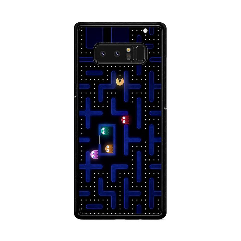 Flazzstore Pacman Game Z0602 Custom Casing for Samsung Galaxy Note8