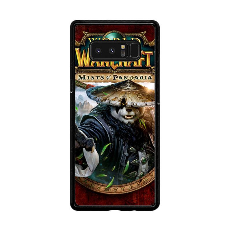 Flazzstore World Of Warcraft Guardian Druid Mists Of Pandaria Z0652 Custom Casing for Samsung Galaxy Note8