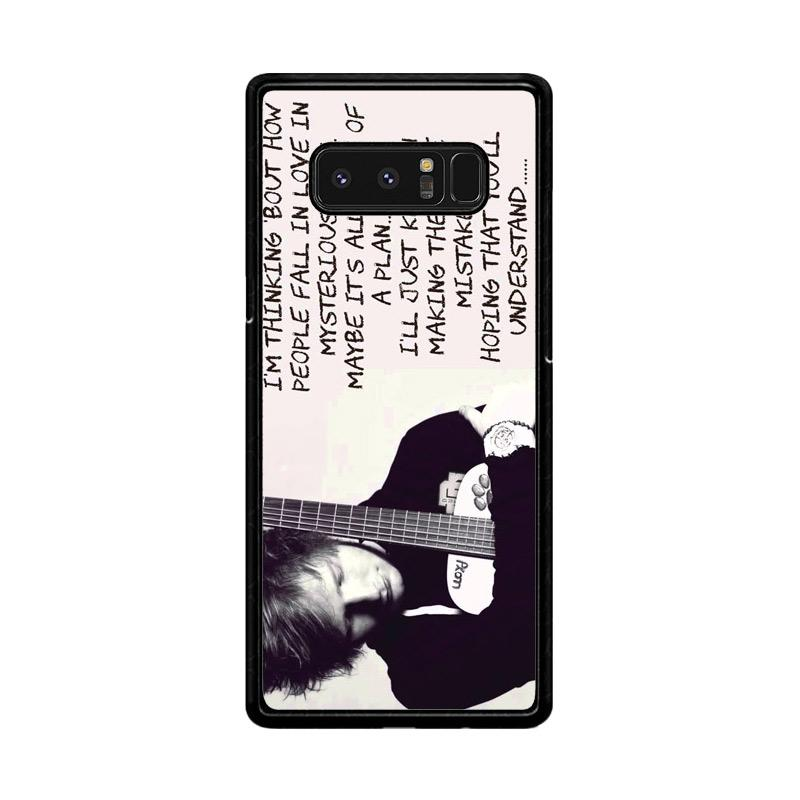 Flazzstore Thinking Out Loud-Ed Sheeran Lyric F0702 Custom Casing for Samsung Galaxy Note 8