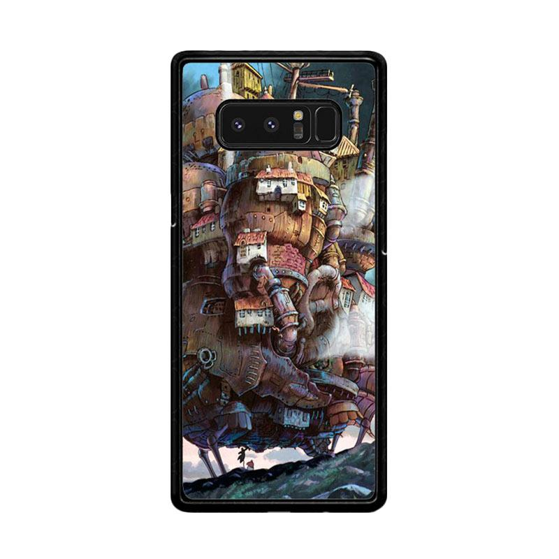 Flazzstore Howl's Moving Castle Z0087 Custom Casing for Samsung Galaxy Note8