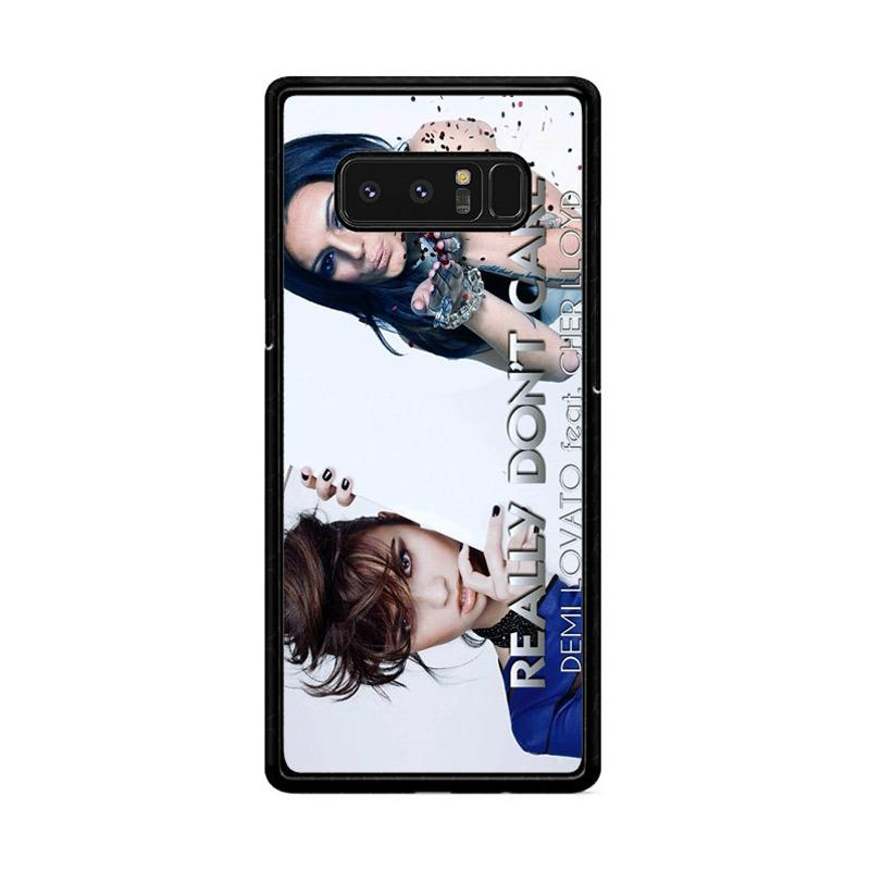 Flazzstore Demi Lovato Feat Cher Lloyd  Really Dont Care Z0129 Custom Casing for Samsung Galaxy Note8