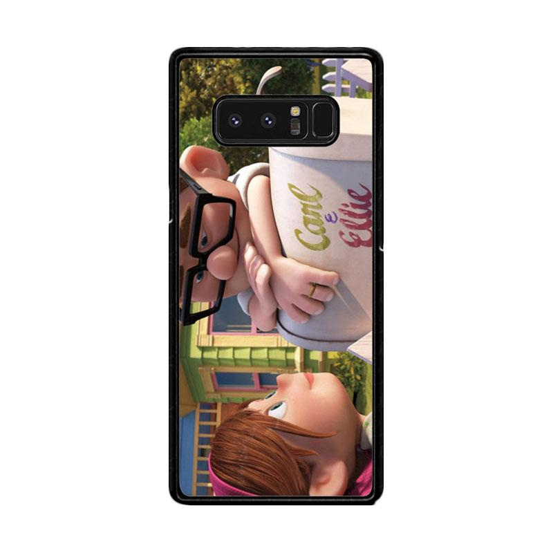 Flazzstore Disney Pixar Carl And Ellie Z0216 Custom Casing for Samsung Galaxy Note8