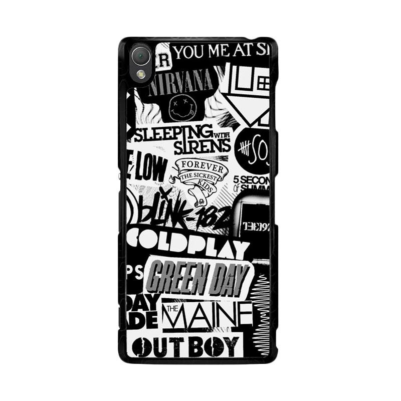 Flazzstore The Xx Coldplay Arctic Monkeys The Neighbourhood Sleeping With Sirens The 1975 Band Z0252 Custom Casing for Sony Xperia Z3