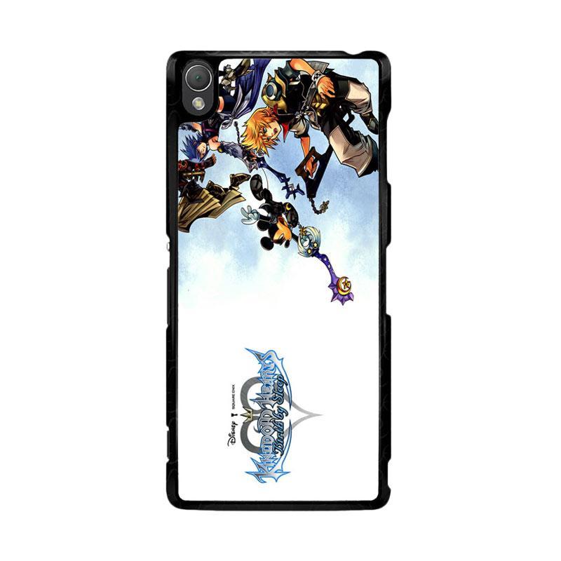 Flazzstore Kingdom Hearts Iii Game Z0904 Custom Casing for Sony Xperia Z3