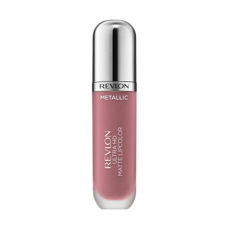 Revlon Ultra HD Matte Lip Color in Mettalic - Glam 680