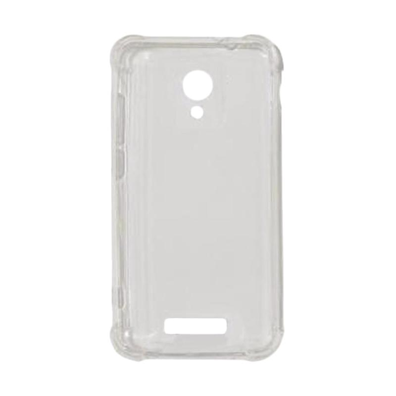 VR Softshell List Anti Shock Anti Crack Silicon Softcase Casing for Andromax L - Transparan