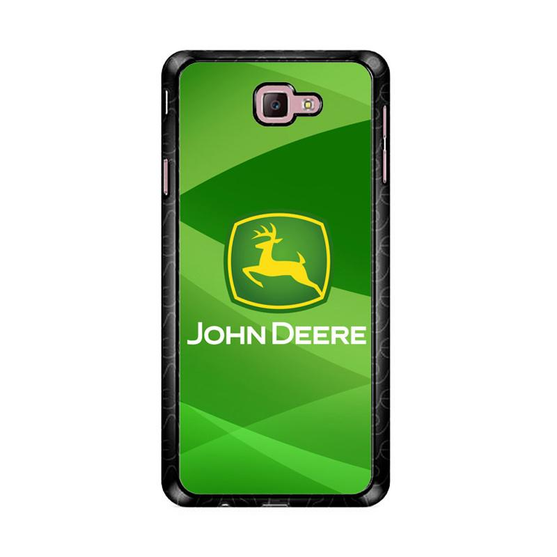 Flazzstore John Deere Logo Z3366 Custom Casing for Samsung Galaxy J7 Prime