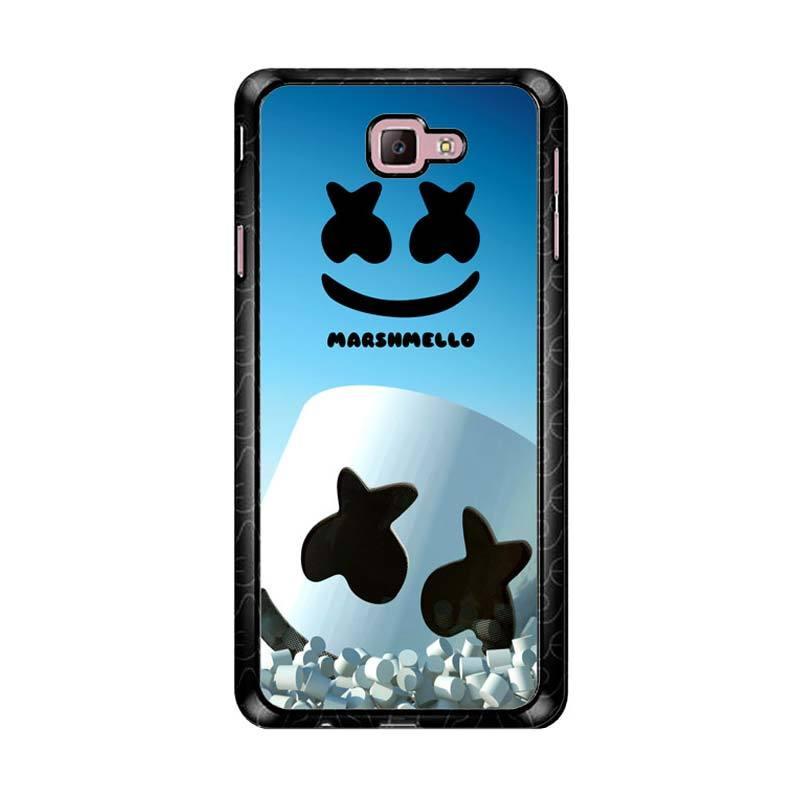 Flazzstore Marshmello Logo Z3865 Custom Casing for Samsung Galaxy J7 Prime