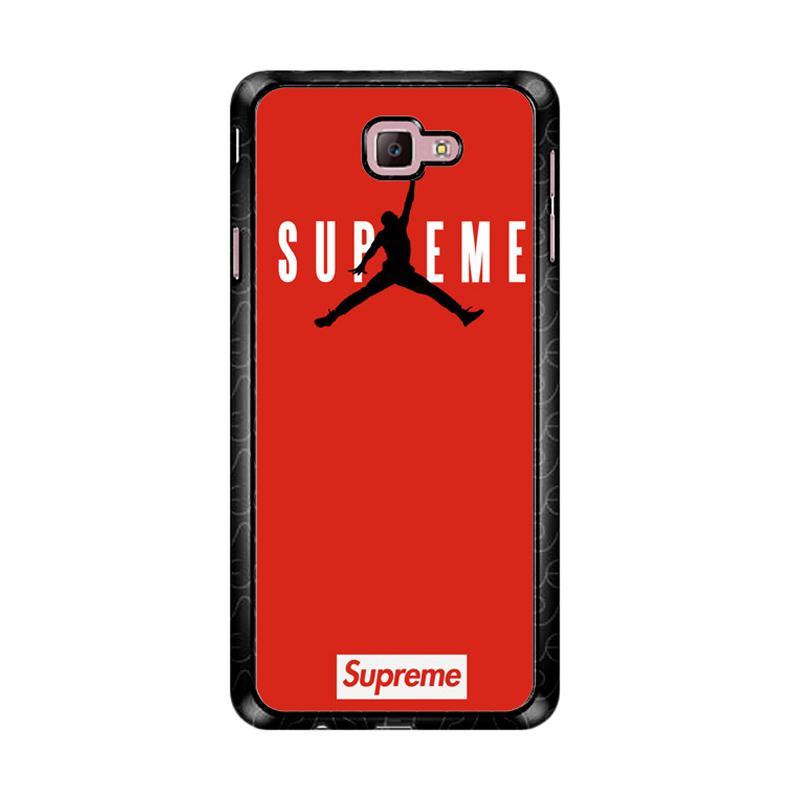 Flazzstore Supreme Jordan Logo Z4157 Custom Casing for Samsung Galaxy J7 Prime