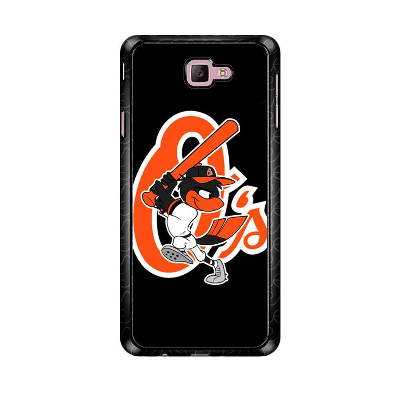 Flazzstore Baltimore Orioles Z4188 Custom Casing for Samsung Galaxy J7 Prime