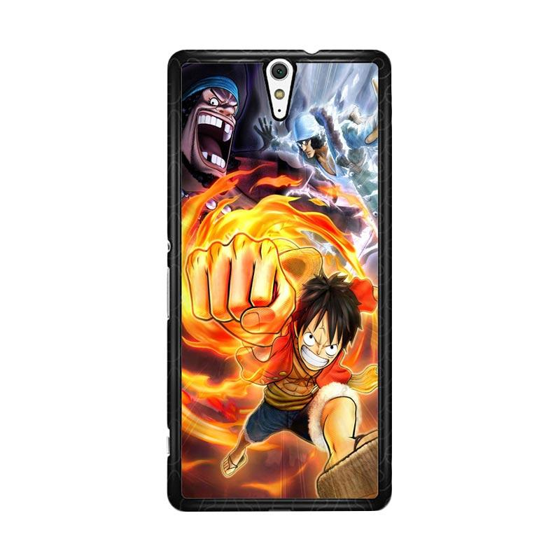 Flazzstore Luffy One Piece Angry Z0807 Custom Casing for Sony Xperia C5 Ultra