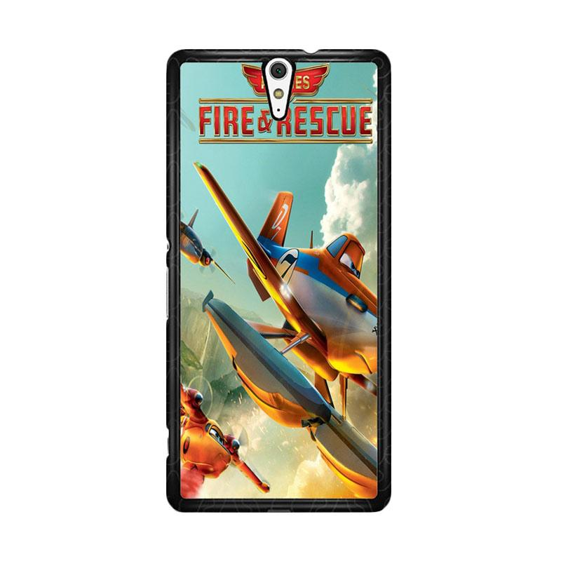 Flazzstore Disney Planes Fire And Rescue  Z0899 Custom Casing for Sony Xperia C5 Ultra
