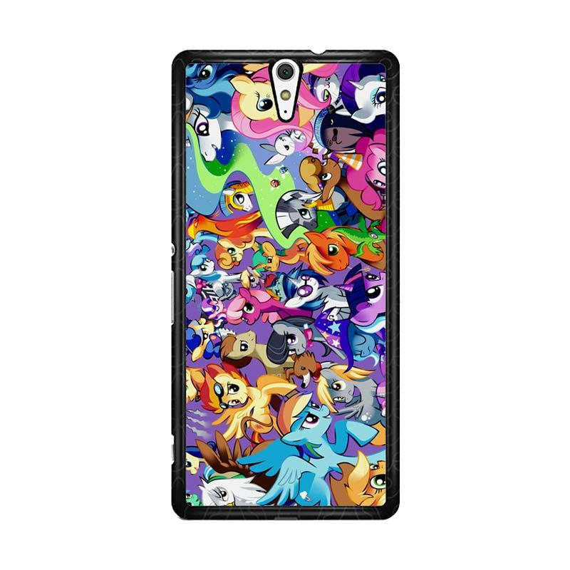 Flazzstore My Little Pony Collage Z1359 Custom Casing for Sony Xperia C5 Ultra