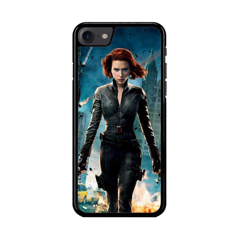 Flazzstore Black Widow Avengers Z1576 Custom Casing for iPhone 7 or 8