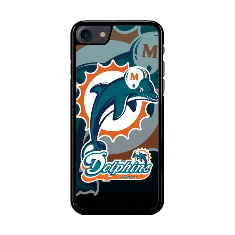 Flazzstore Miami Dolphins Nfl Z3270 Custom Casing for iPhone 7 or 8