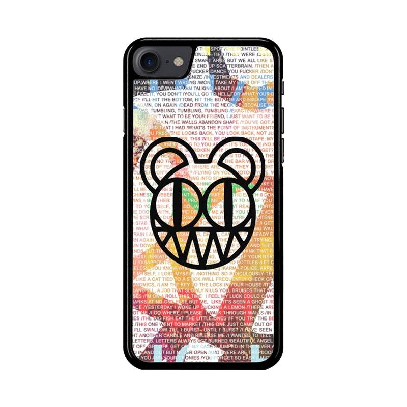 Flazzstore Radiohead Logo Z3286 Custom Casing for iPhone 7 or 8