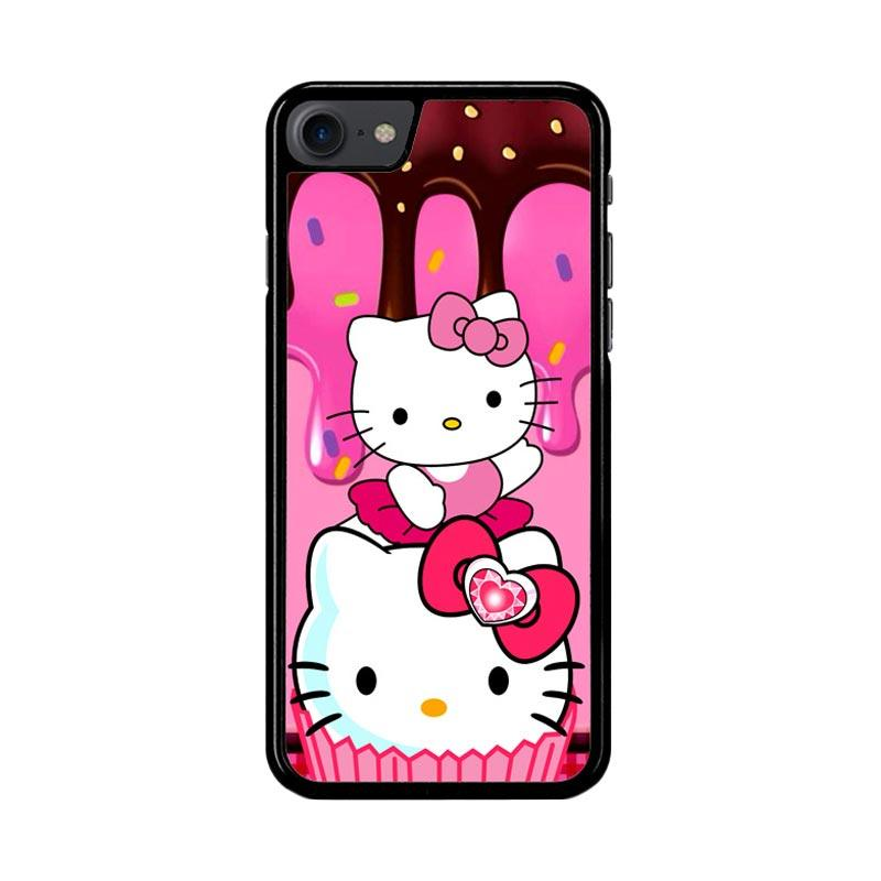 Flazzstore Hello Kitty Cute Z3336 Custom Casing for iPhone 7 or 8