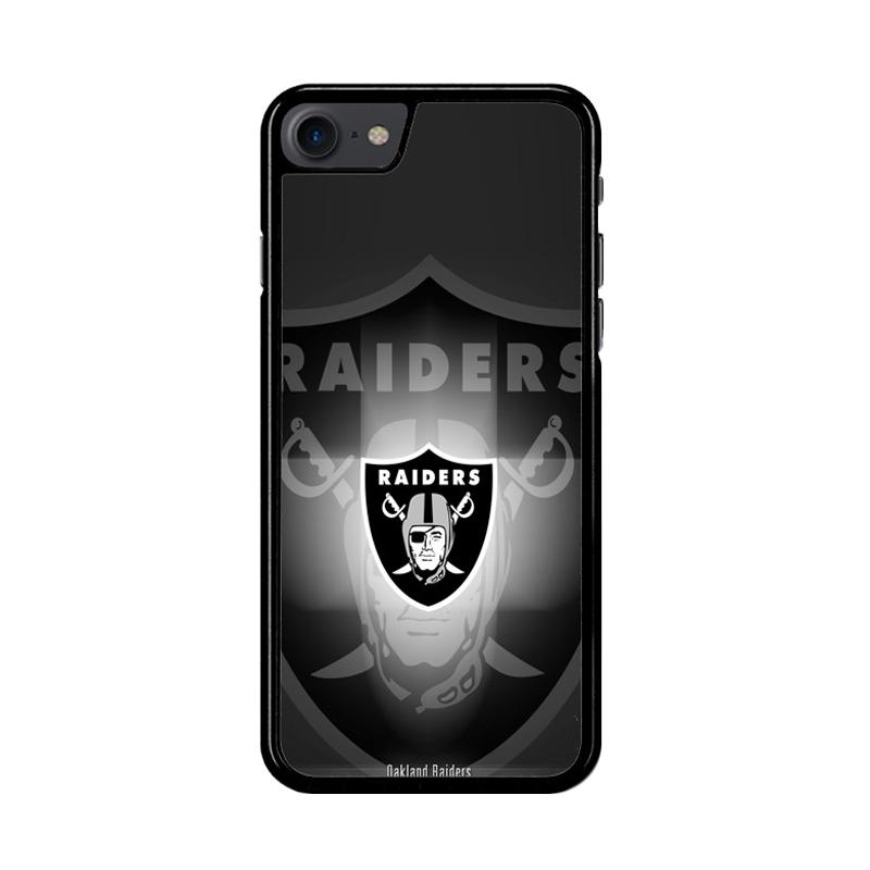 Flazzstore Logo Oakland Raiders Z4062 Custom Casing for iPhone 7 or 8