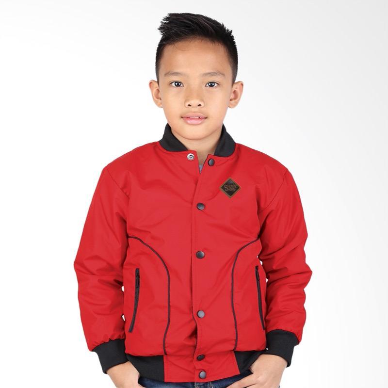 Catenzo Junior CJR CSE 162 Jaket Anak Laki-laki - Merah