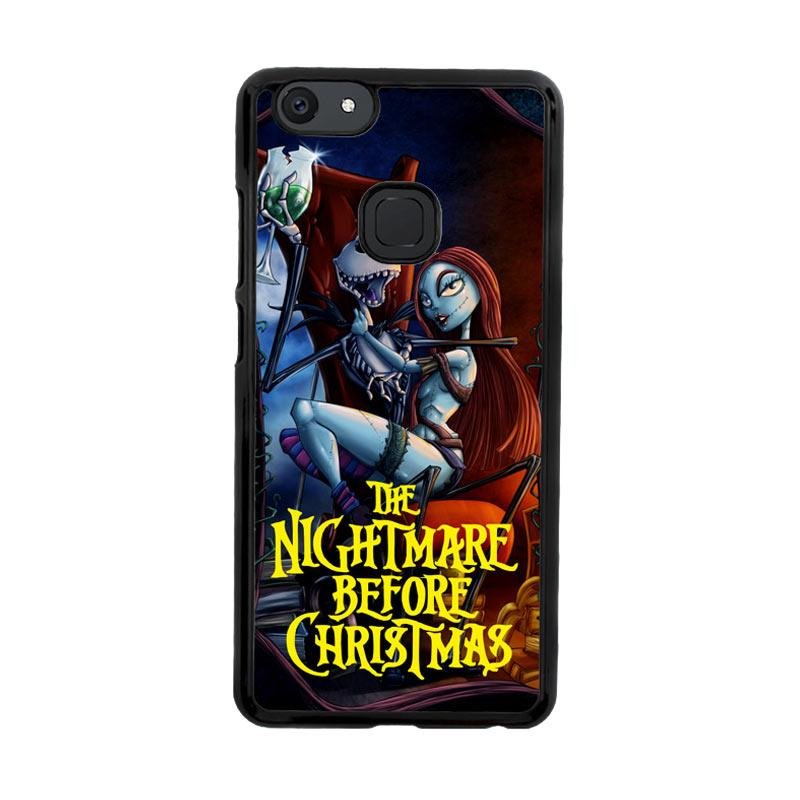 Flazzstore Nightmare Before Christmas Romance Z2862 Custom Casing for Vivo V7 Plus