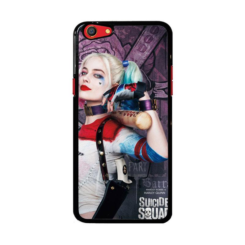 Flazzstore Harley Quinn Suicide Squad Z5188 Custom Casing for Oppo F3