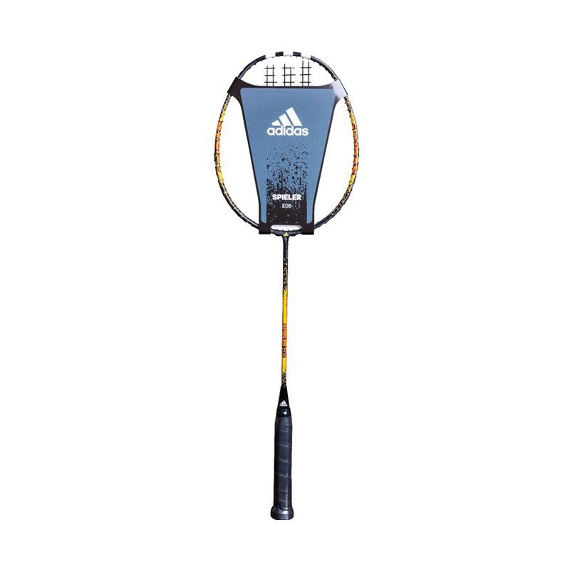 Adidas New Spieler Raket Badminton - Orange [E 08 BLACK]