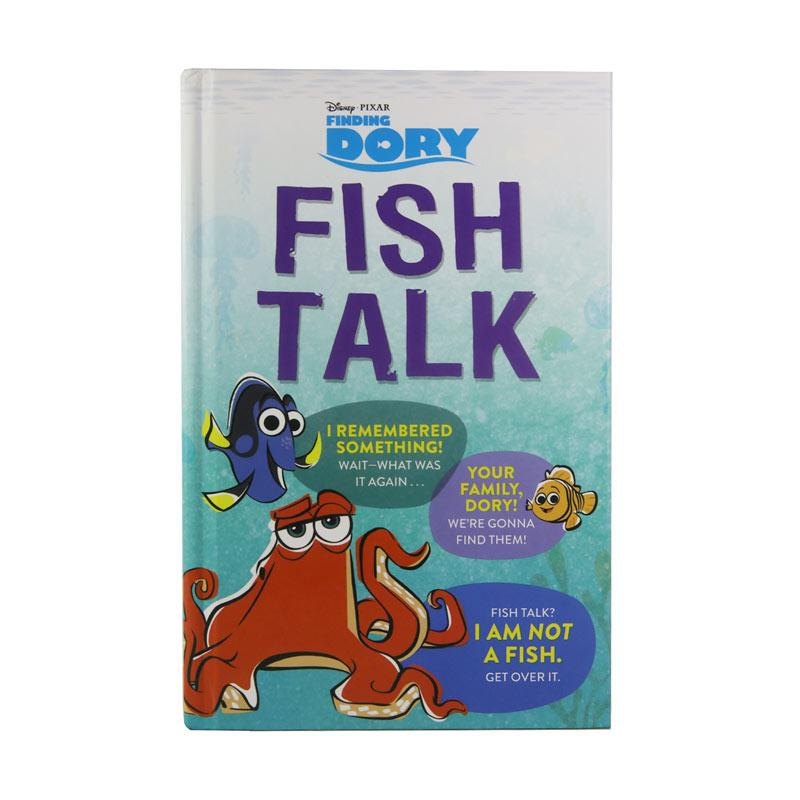 Disney Press Finding Dory Fish Talk by Disney Book Group Buku Anak