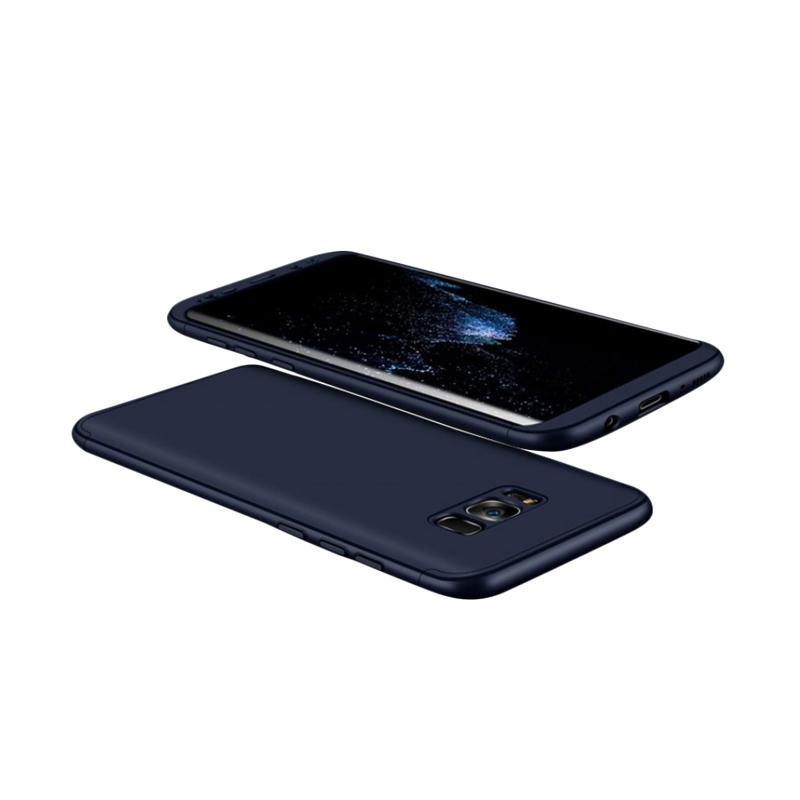 HM 360 Full Protection 3 in 1 Casing for Samsung S8 Plus - Blue Navy
