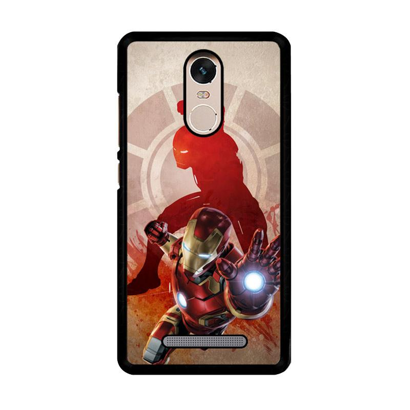 Flazzstore Marvels Iron Man Pose Z2891 Custom Casing for Xiaomi Redmi Note 3 or Note 3 Pro