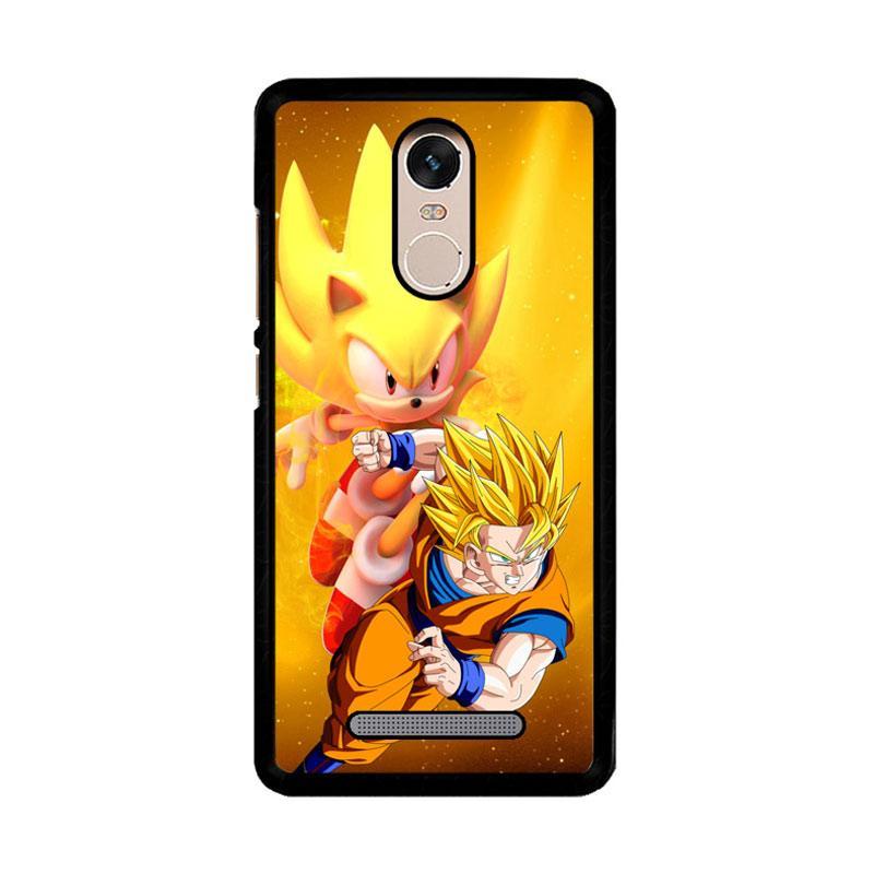 Flazzstore Goku Super Saiyan Super Sonic Z3304 Custom Casing for Xiaomi Redmi Note 3 or Note 3 Pro