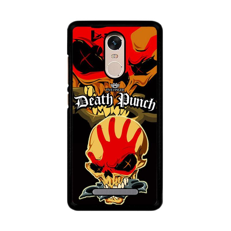 Flazzstore Five Finger Death Punch Z3324 Custom Casing for Xiaomi Redmi Note 3 or Note 3 Pro