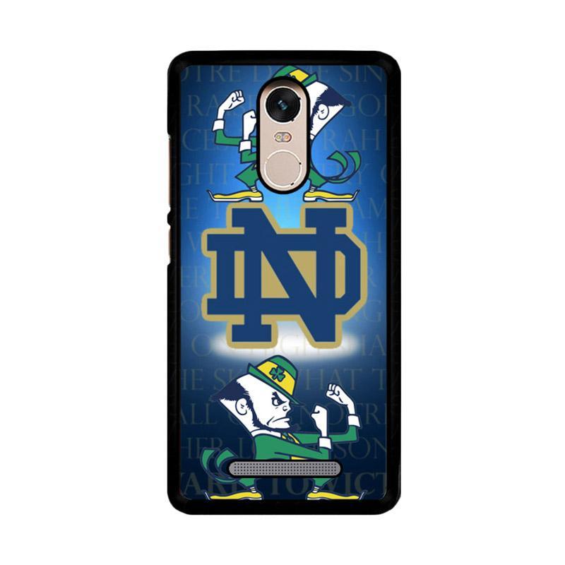 Flazzstore Notre Dame Fighting Irish Z3352 Custom Casing for Xiaomi Redmi Note 3 or Note 3 Pro